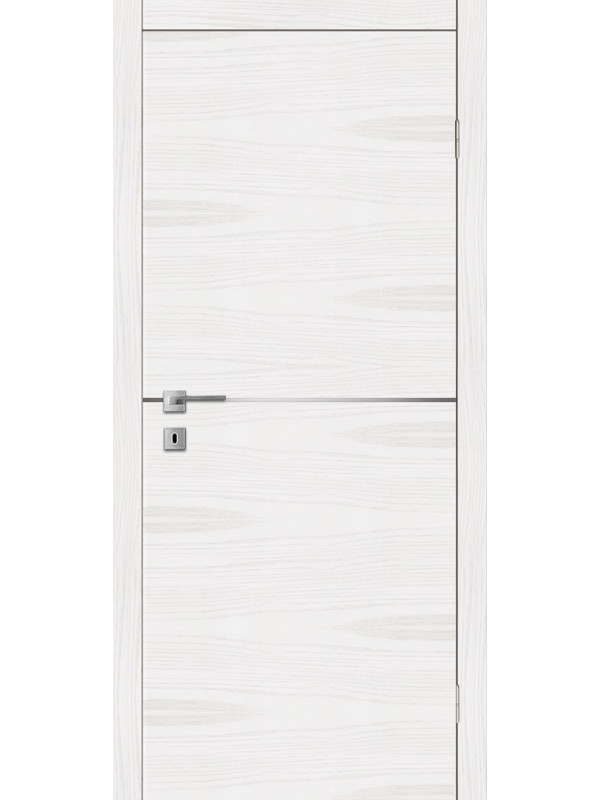 F 2 - Межкомнатные двери, Белые двери шпонированные