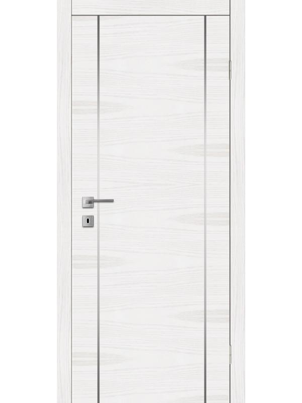 F 4 - Межкомнатные двери, Белые двери шпонированные