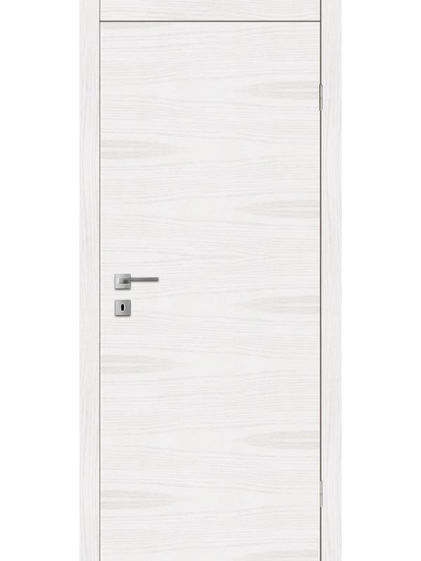 F 1 - Межкомнатные двери, Белые двери шпонированные