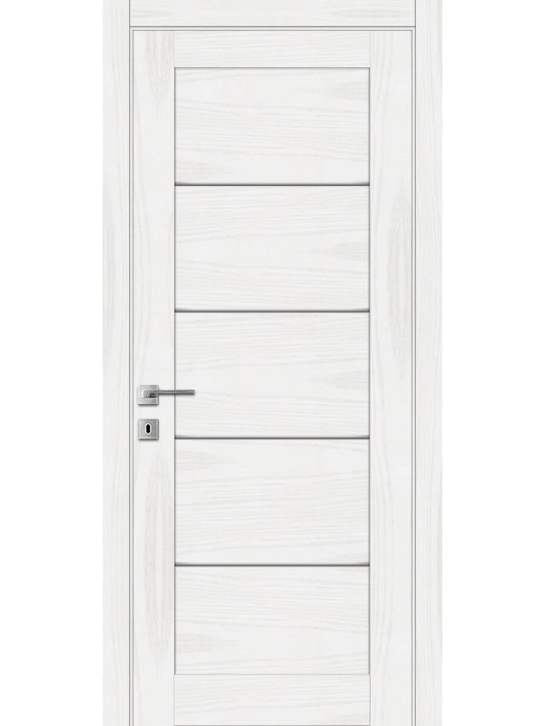 L-3.M - Межкомнатные двери, Белые двери шпонированные