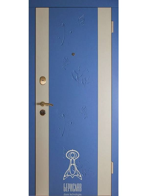 Берислав Primavera небесно голубой М-2 - Входные двери, Входные двери в дом