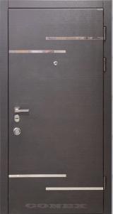 Conex модель 200. МДФ.  цвет венге горизонт темный (термопал)+н/ж - Конекс
