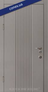 Модель 61. МДФ. Элегантный серый - Входные двери