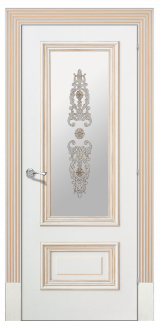 Доже 1 со стеклом  - Межкомнатные двери