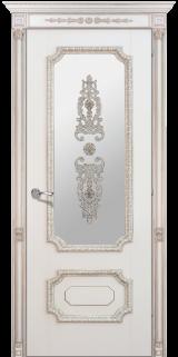Доже 3 со стеклом - Межкомнатные двери, Окрашенные двери