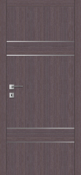 F 12 - Межкомнатные двери, Шпонированные двери