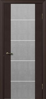 Глазго с молдингом  - Межкомнатные двери, Шпонированные двери