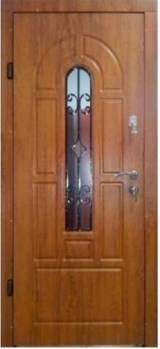 Арка с ковкой и притвором Эконом улица  - Входные двери, Двери в наличии на  складе