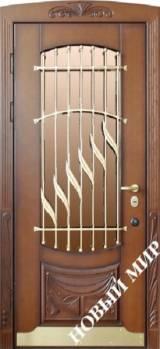 Новый мир Садыба - Входные двери, Входные двери в дом