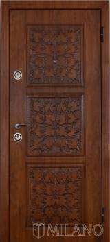 Милано Лист - Входные двери, Входные двери в дом