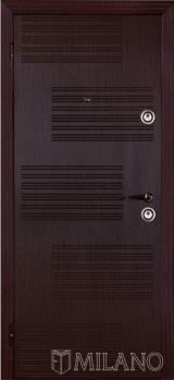 Милано Полоски - Входные двери, Входные двери в дом