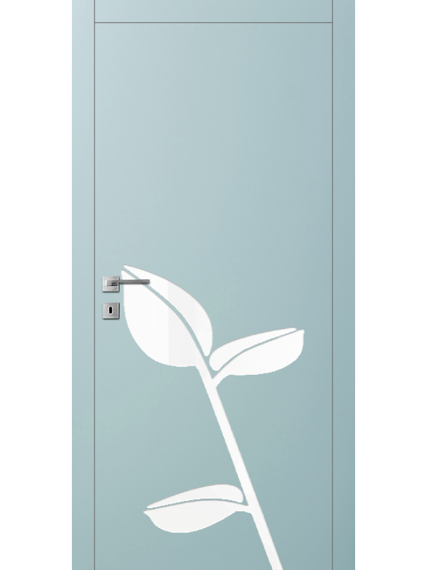 FL17 - Міжкімнатні двері, Пофарбовані двері
