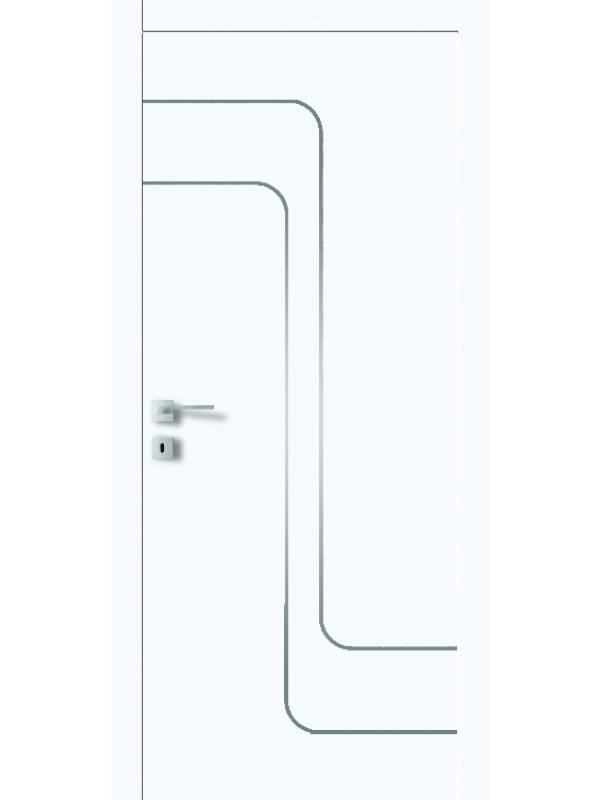 FT5.M - Міжкімнатні двері, Білі двері