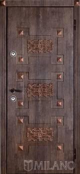 Мілано Art1 - Вхідні двері, Двері зовнішні (в будинок)