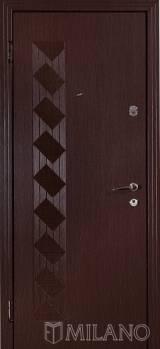 Мілано ТДК5 - Вхідні двері, Двері зовнішні (в будинок)